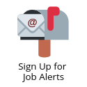 Sign up for job alerts