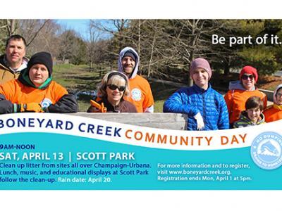 Boneyard Creek Community Day 2019