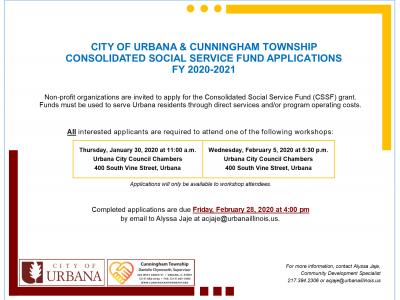 CSSF Grants