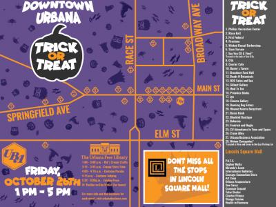 Halloween Map of Fun