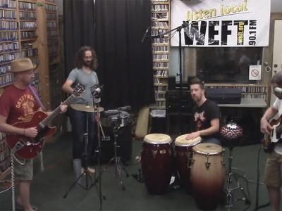 WEFT Sessions-Los Guapos