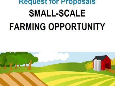 Request for Proposals Small-Scale Farming Opportunity City of Urbana